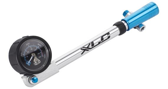 XLC HighAir Pro PU-H03 Pomka rowerowa niebieski/srebrny